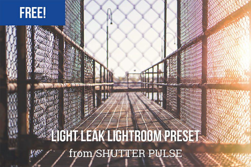 fuga de luz preestablecido de sala de luz