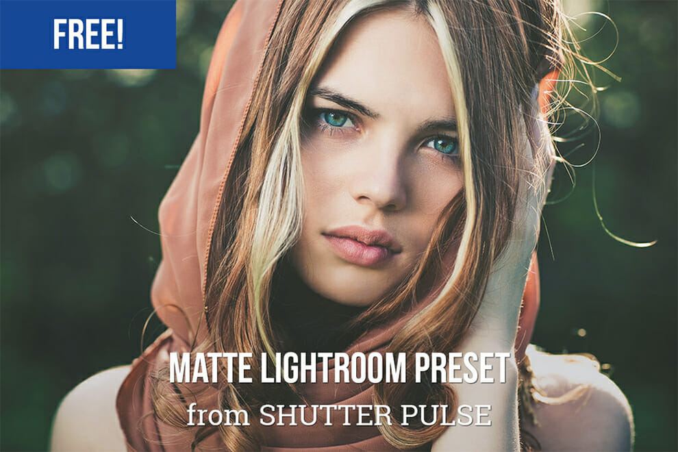 Lightroom preset mate libre