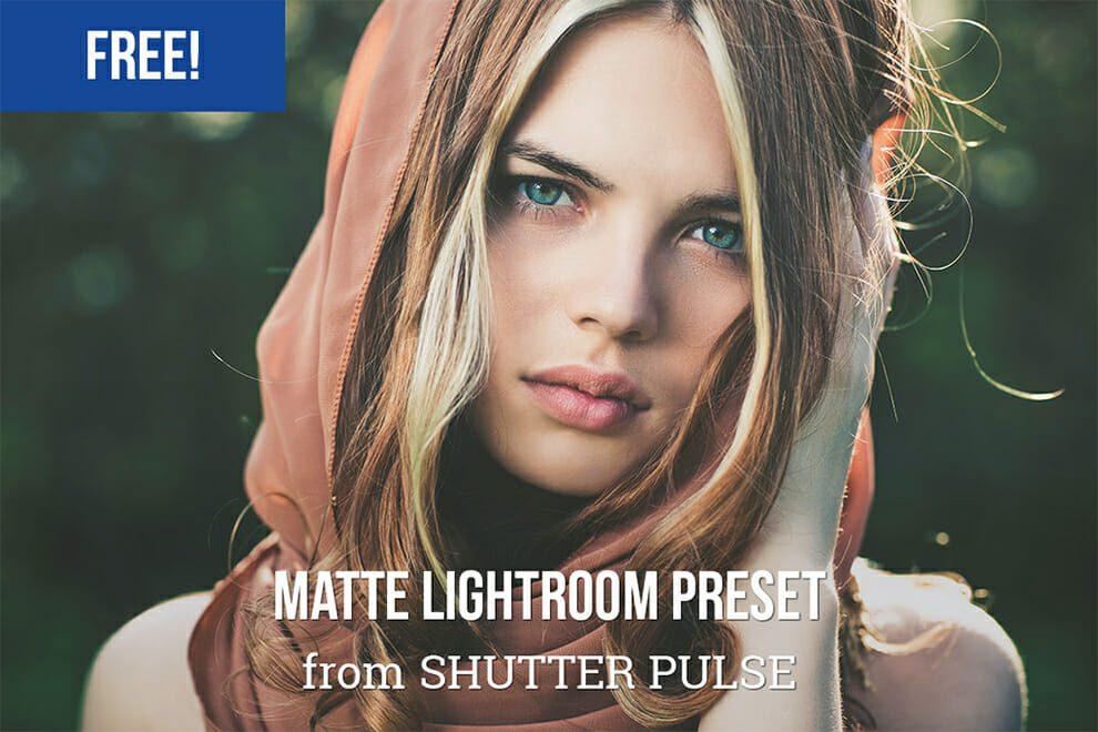 Lightroom preset mate libre