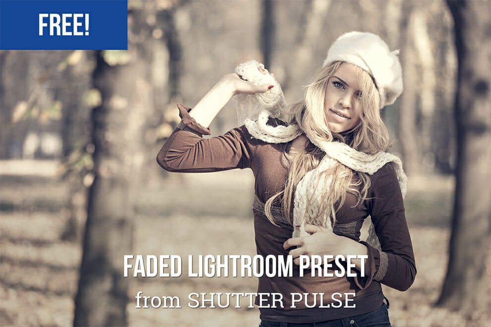 Desvanecido preestablecido de Lightroom libre