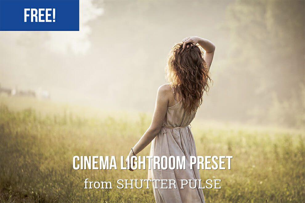 cinematic lightroom effect
