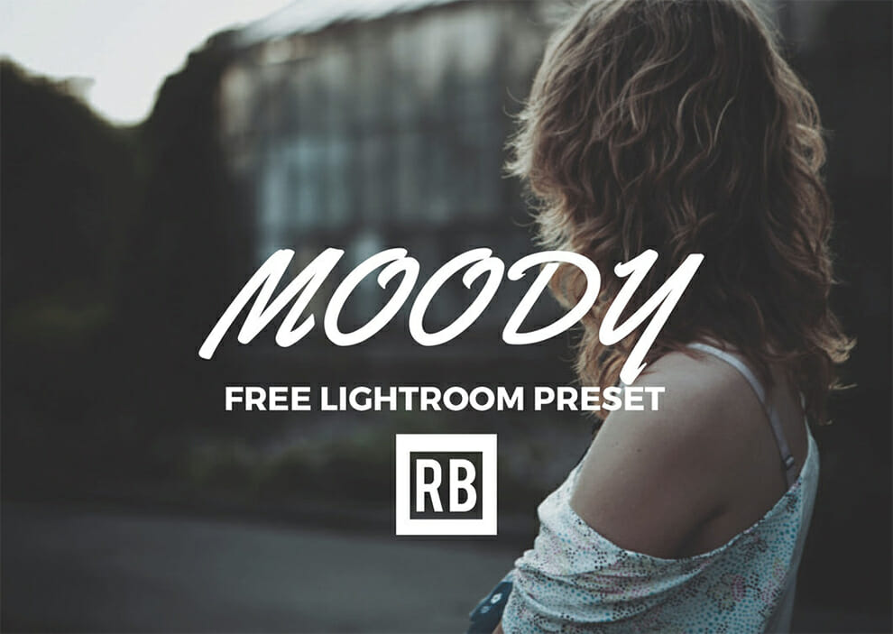 moody lightroom preset