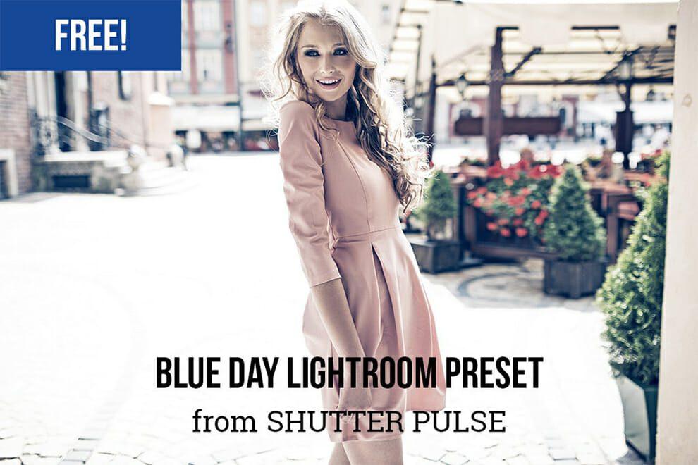 Blue Day free lightroom preset