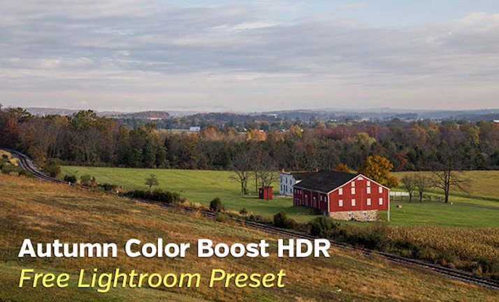 Color de otoño Boost Hdr Lightroom Preset