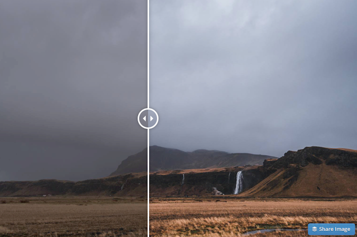 Dark and moody landscapes free lightroom preset