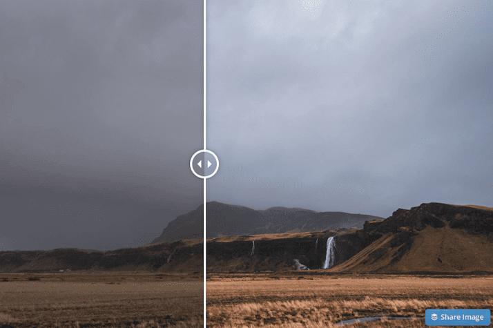 Dark and moody landscapes free lightroom preset