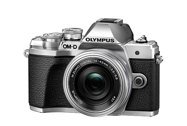 10 mejores cámaras para principiantes: Olympus E-M10 Mark III
