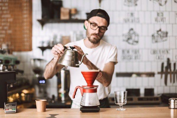 Barista Counter Coffee