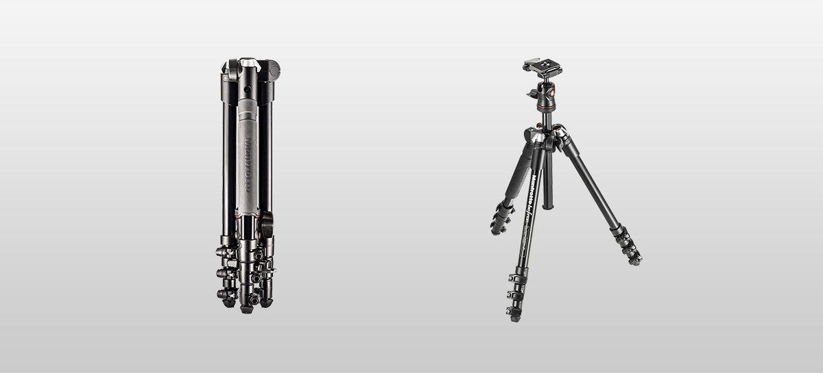 Canon DSLR trípodes manfrotto