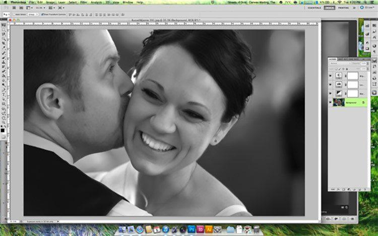 Convertir una imagen en blanco y negro correctamente