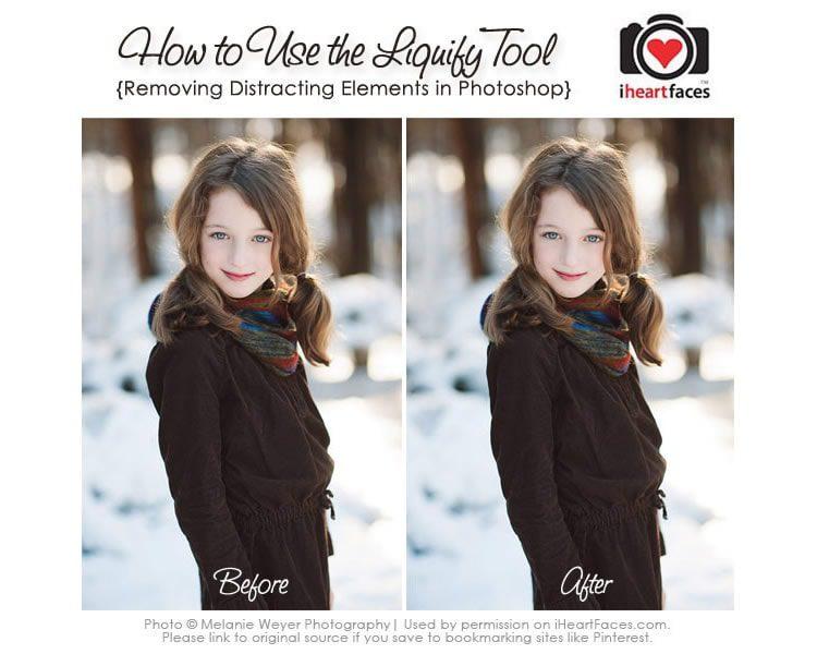 Mejores tutoriales de adobe photoshop: Cómo usar la herramienta de licuar en Photoshop