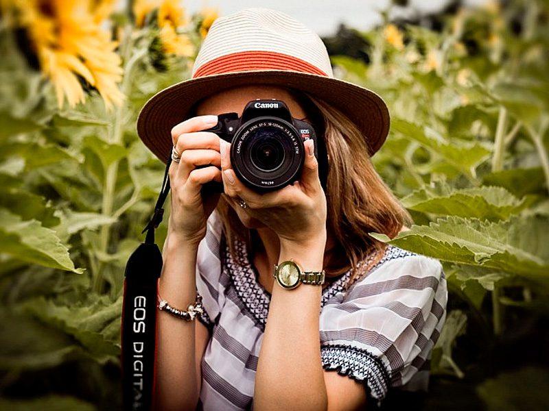 cámara para principiantes