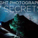 7 consejos profesionales para fotografía nocturna