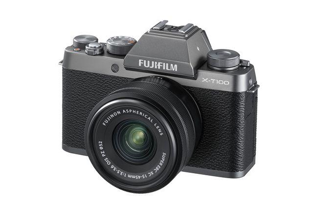 10 mejores cámaras para principiantes:  Fujifilm X-T100