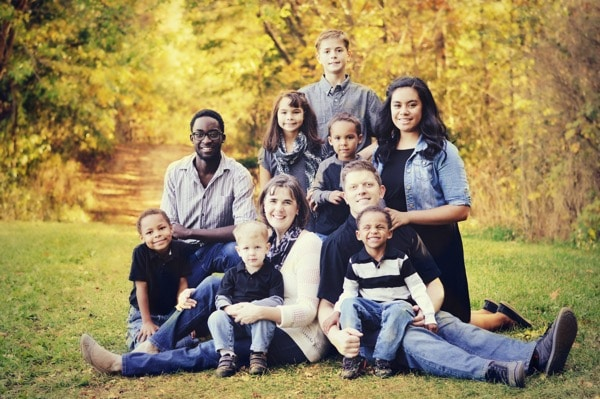 Familia multirracial