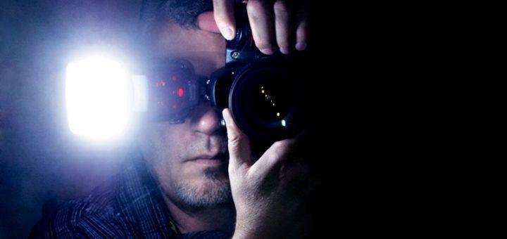 fotografía con flash