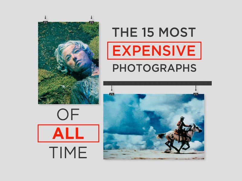 Las 15 fotografías más caras de todos los tiempos en una sola infografía
