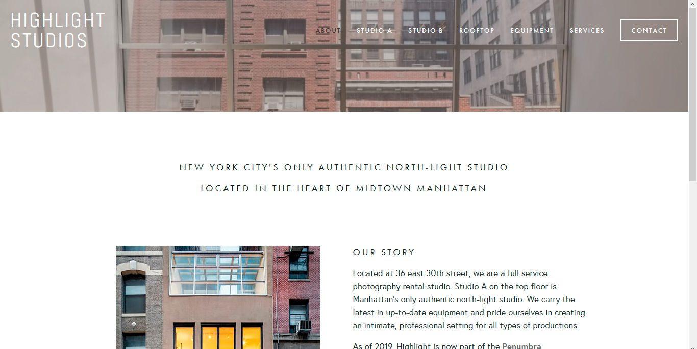 Los 10 mejores estudios fotográficos: estudio fotográfico highlightstudios