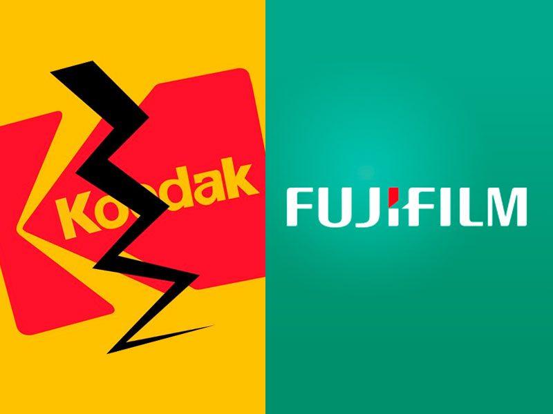 kodak vs fujifilm