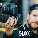 Comparación de cámaras barata $400 vs cámara cara $4000