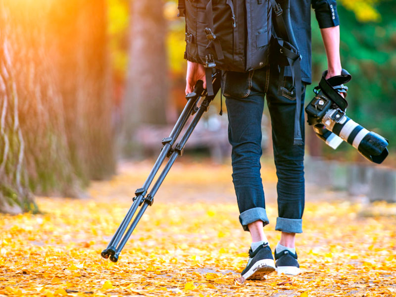 Mejores trípodes para cámaras DSLR