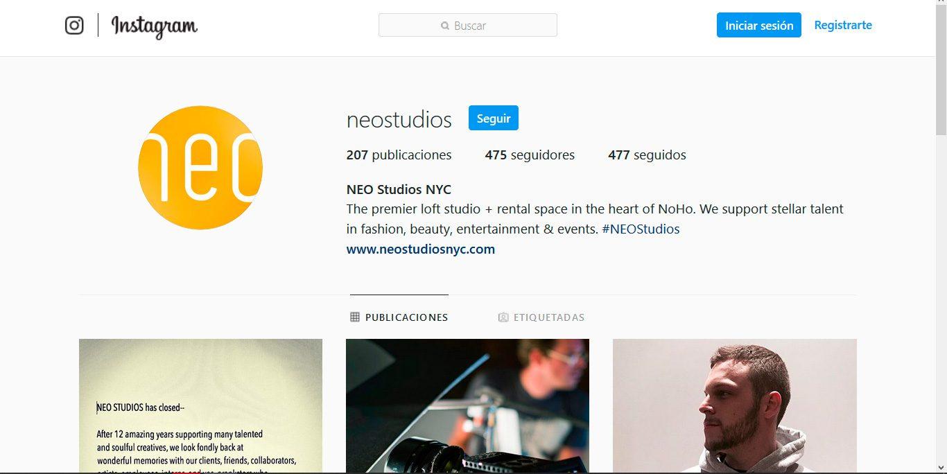 Los 10 mejores estudios fotográficos: neostudios ny estusio fotográfico