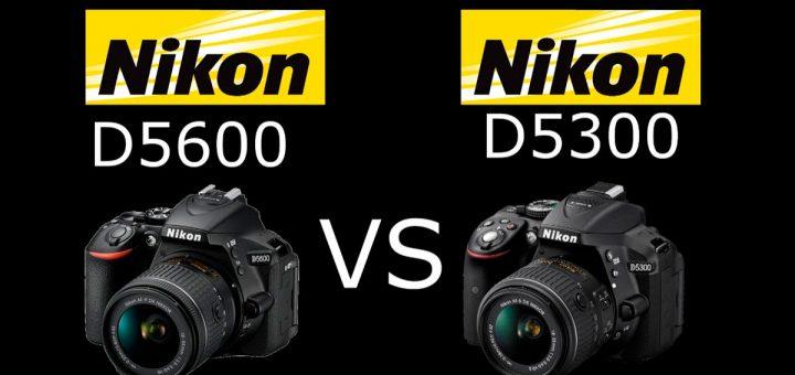 comparación Nikon D5300 vs Nikon D5600