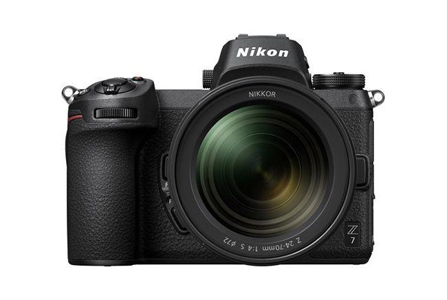 Las mejores cámaras Nikon: Nikon Z7
