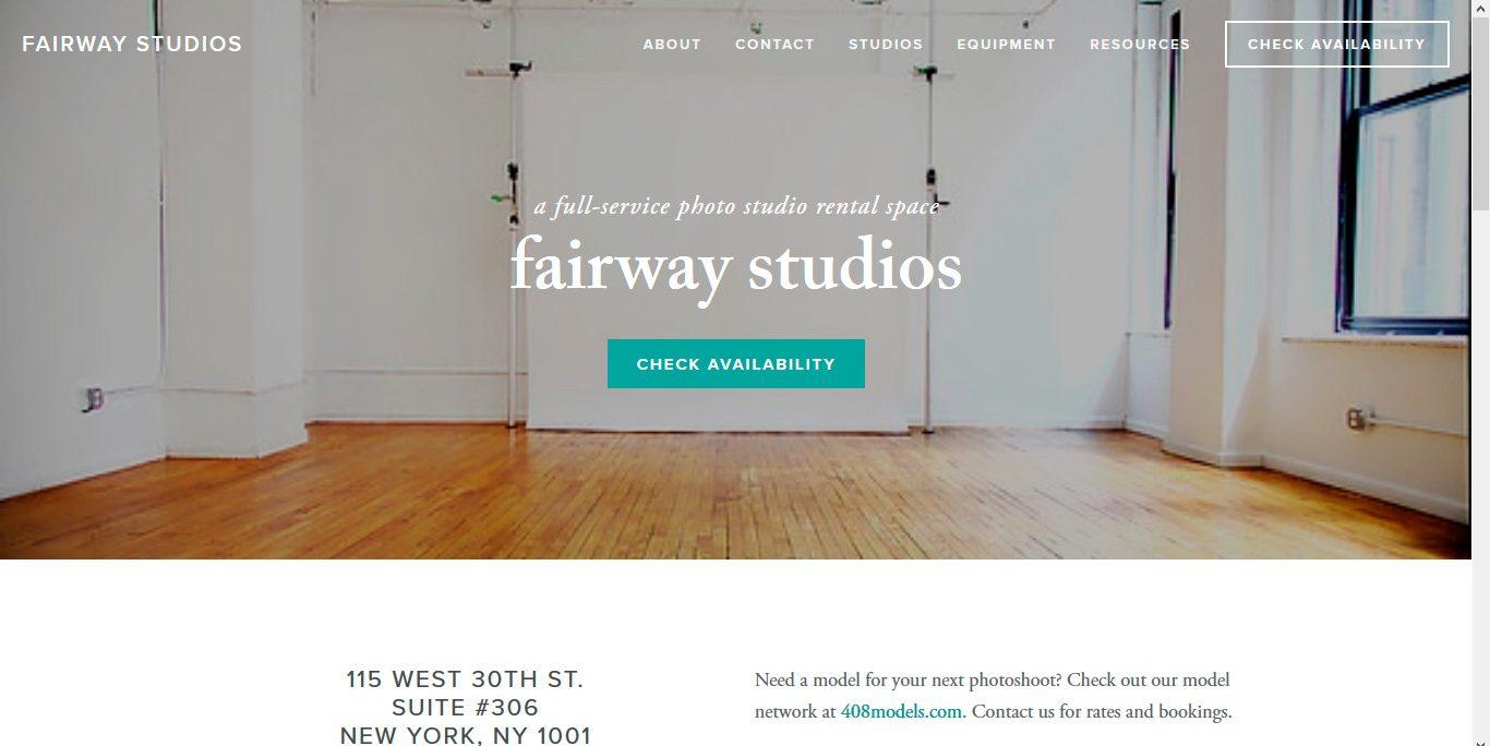 Estudio fotográfico studiofairway
