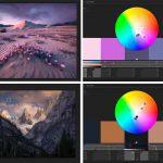 Ejemplos de la teoría del color en fotografía de paisajes