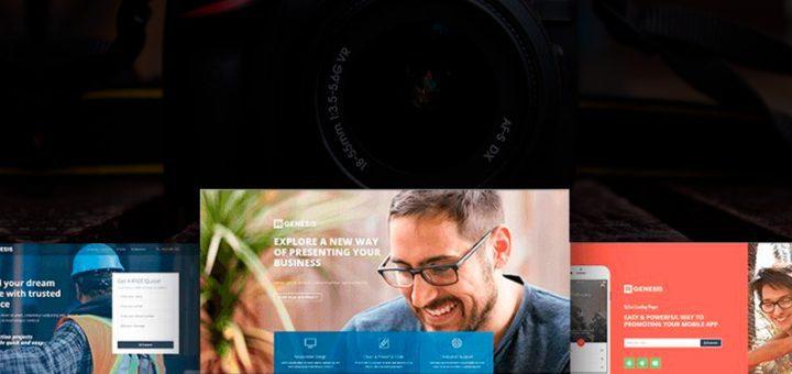 sitios web de fotografía