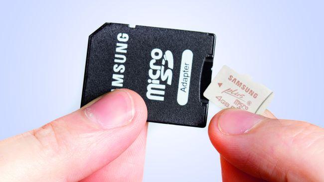 tarjetas SD para fotografía