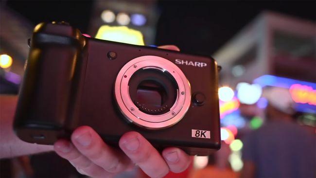 Cámaras 8k para fotografía y video