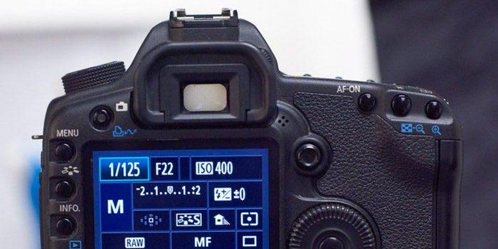 Los tres valores de configuración de la cámara para usar en la fotografía de su producto.