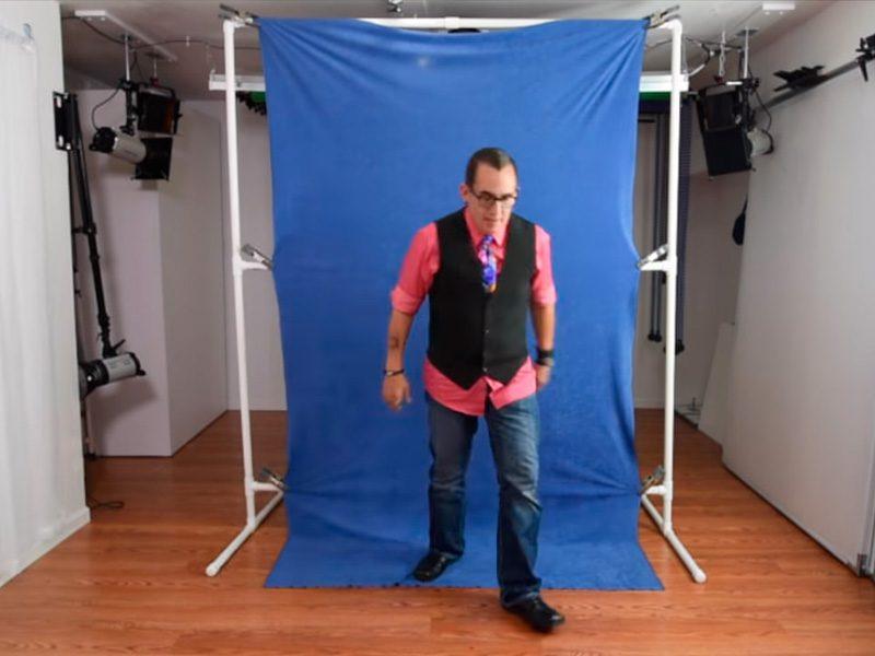 soporte para fotografía de retrato