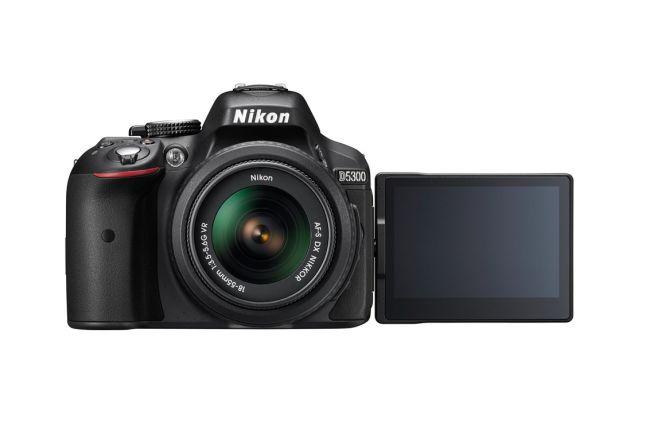 Cámaras profesionales económicas en 2020: Nikon D5300