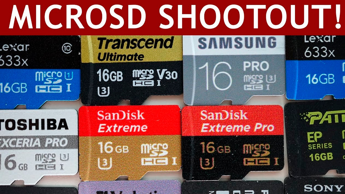 Velocidad de tarjetas de memoria
