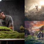 Fotografía de miniaturas con el 'El señor de los anillos'