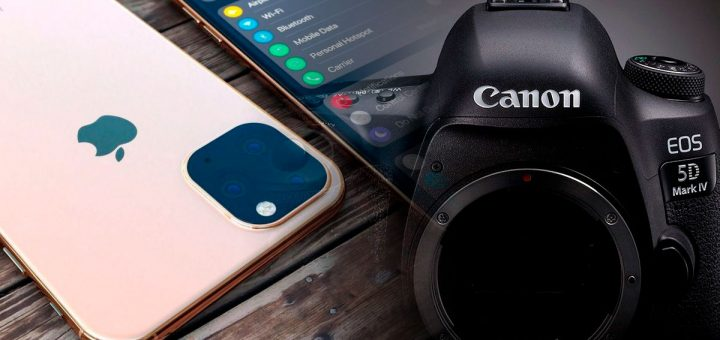 canon vs iphone