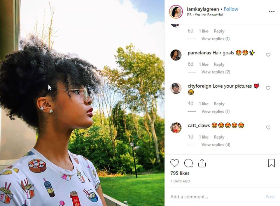 ideas de selfie para niña