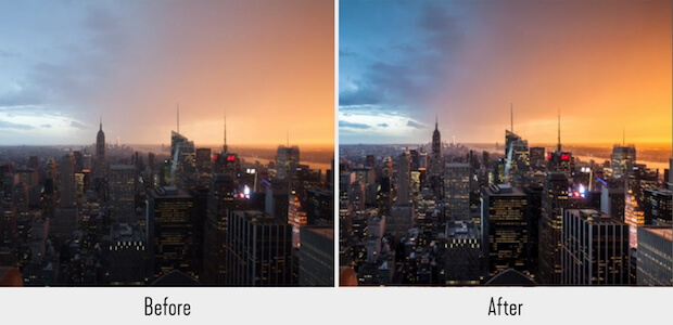 NY Skyline lightroom preset
