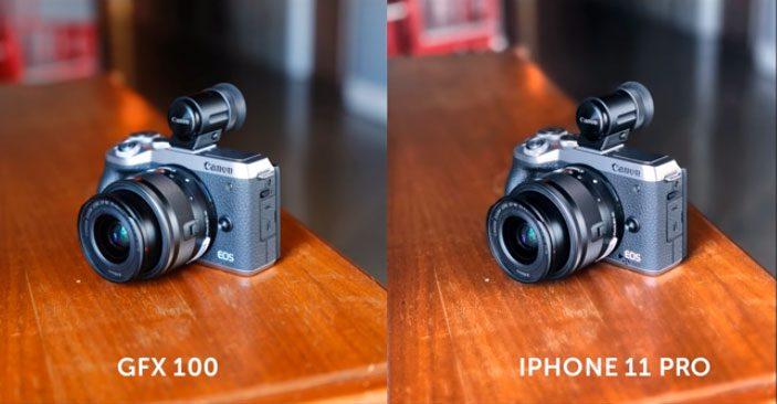gfx100 vs iphone 11