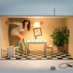 Fotógrafa toma impresionantes Selfies Creativas para mujeres