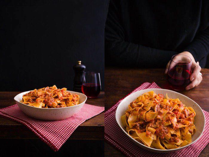 Herramientas adecuadas para diseñar fotografías de comida