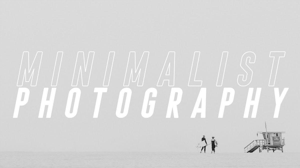 como hacer fotografía minimalísta