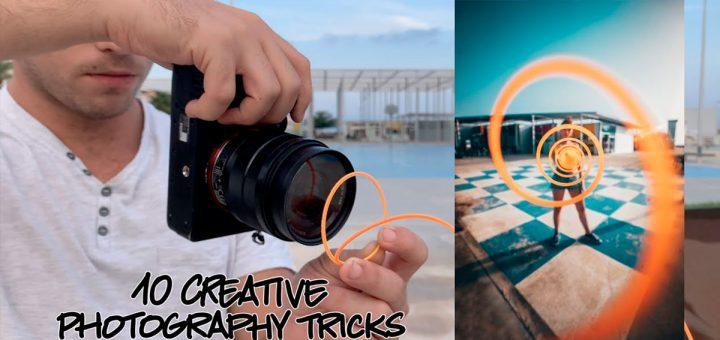técnicas para fotos creativas