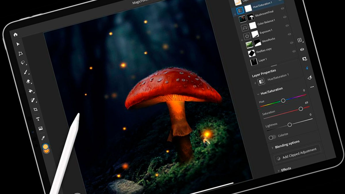 nuevo photoshop para ipad