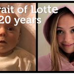 Papá captura 'Retratos' de su hija en Time-Lapse desde el nacimiento hasta los 20 años