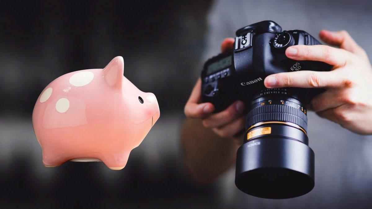 ahorrar en equipo de fotografía