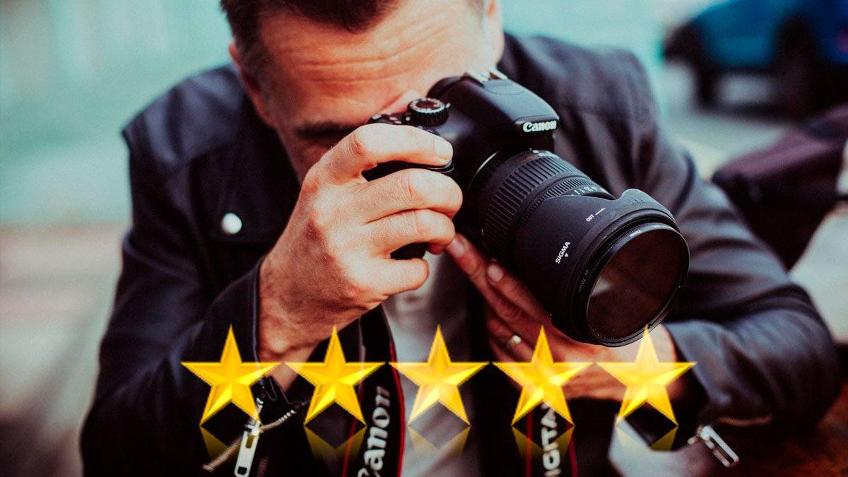 calidad de equipos de fotografía